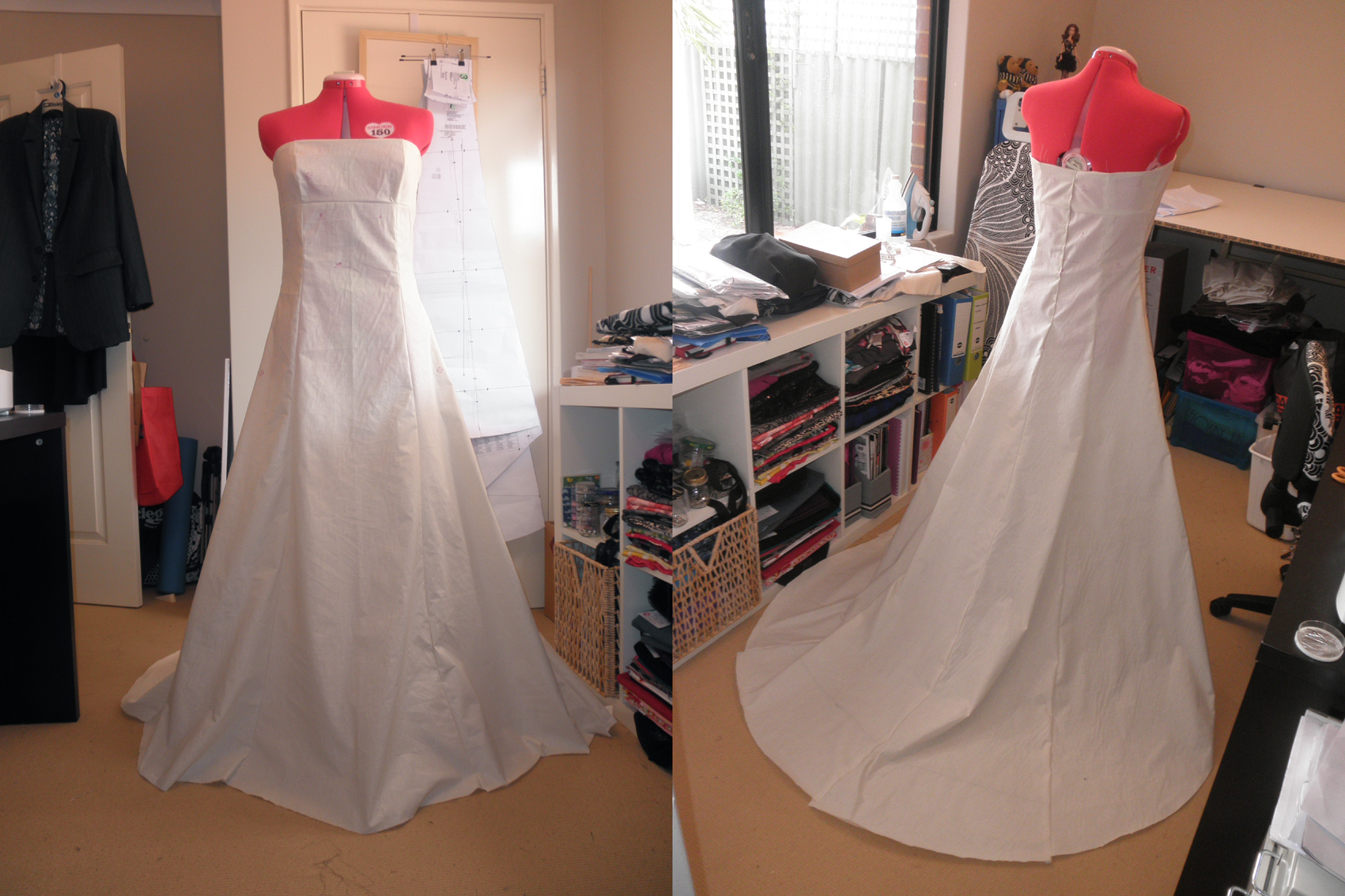 How to sew your own wedding dress the curious kiwi for How to make a wedding dress