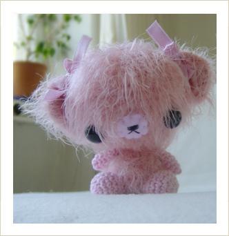 Amigurumi Pink Bear : Enid Gilchrist the curious kiwi