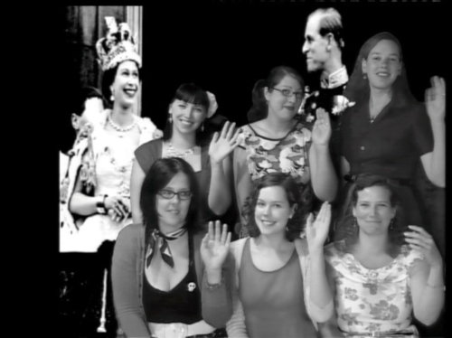 WSBN Meet – January 2013Kat & Drake, Emily (new member yeah!) Maryanne, JulietJohanna, myself & Nikki (photo courtesy of Kat, random Photoshopping by me)