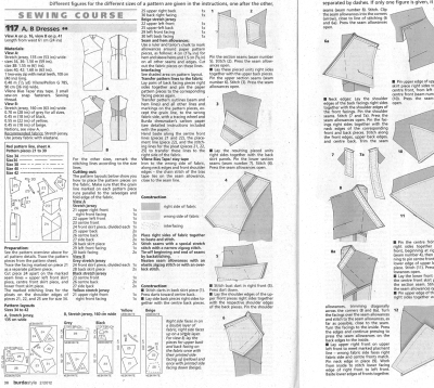Burda Instructions 05